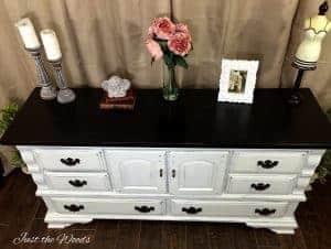shabby chic dresser, staten island, nyc, nj, painted dresser, shabby chic
