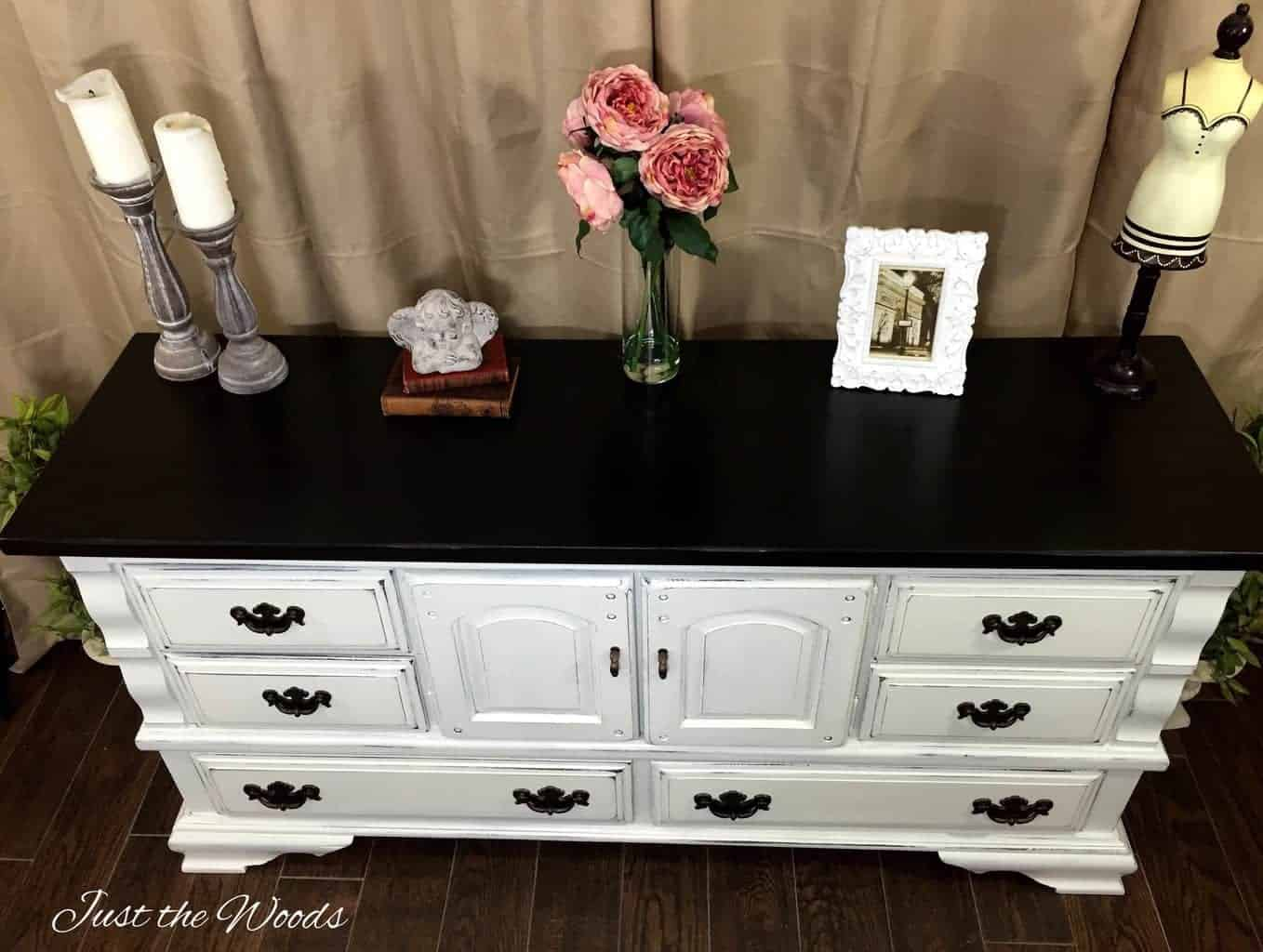 shabby chic dresser, staten island, painted dresser, shabby chic, distressed furniture, distressed dresser, white dresser