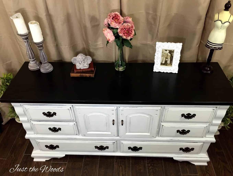 shabby chic dresser, staten island, painted dresser, shabby chic, distressed furniture, distressed dresser, white dresser
