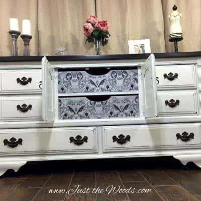 Vintage Painted Dresser with Surprise Drawers