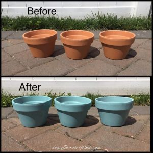 Spruce up the Garden with Raised Garden Beds / paint, stencil, seal by Just the Woods