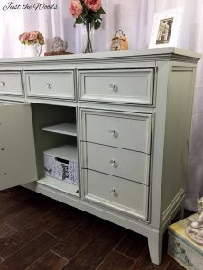 modern dresser painted, shabby chic, chalk paint, just the woods, nj, nyc