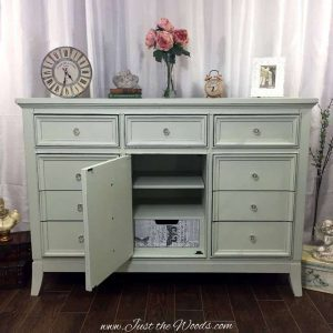decoupage, shabby chic, sage green, chalk paint, painted furniture, staten island