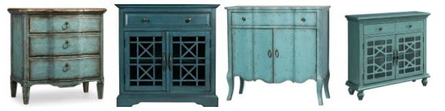 blue teal accent furniture