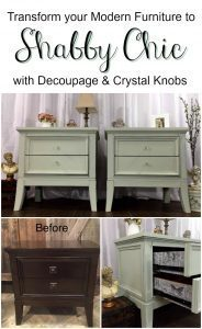 shabby-chic, decoupage, painted tables, just the woods