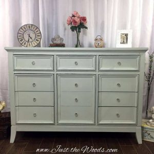 painted dresser, painted furniture, shabby chic, distressed, decouapage