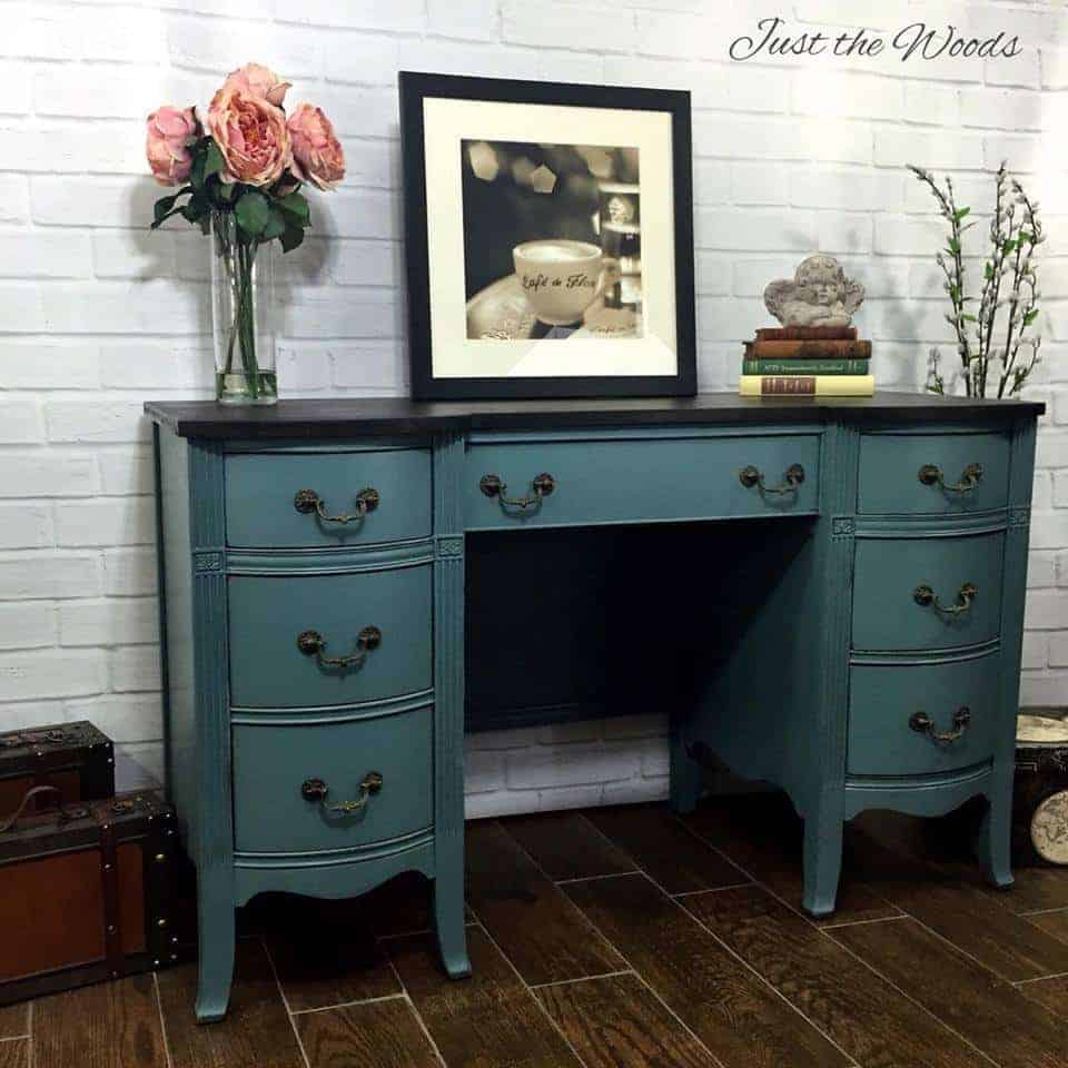 Beauty Lawn Spray Memphis Tn: Desk Rescue In Memphis Blue From Catskills Barn By Just
