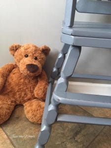 Baby Safe Products! Hand Painted High Chair by Just the Woods