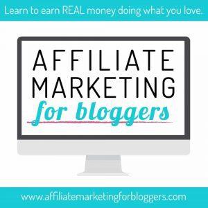 Affiliate Marketing for Blogging - learn from Tasha