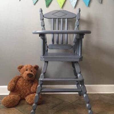 Baby Safe Products! Hand Painted High Chair