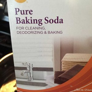 clean hardware with baking soda, how to clean, vintage hardware