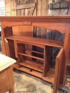 work in progress, vintage furniture, thomasville