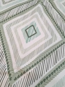 ikat fabric, ikat, minted, green fabric