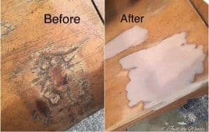 how to repair wood