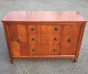 vintage buffet, unfinished furniture, vintage furniture, image transfer, just the woods