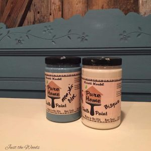 Memphis Blue chalk paint, chalk paint, staten island, ny, nj