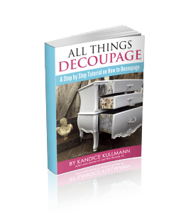 Decoupage, All things decoupage, how to, just the , ebook