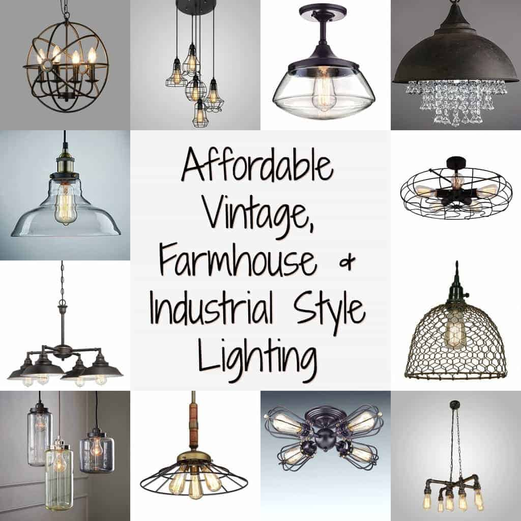 Vintage Farmhouse And Style Lighting By Just The