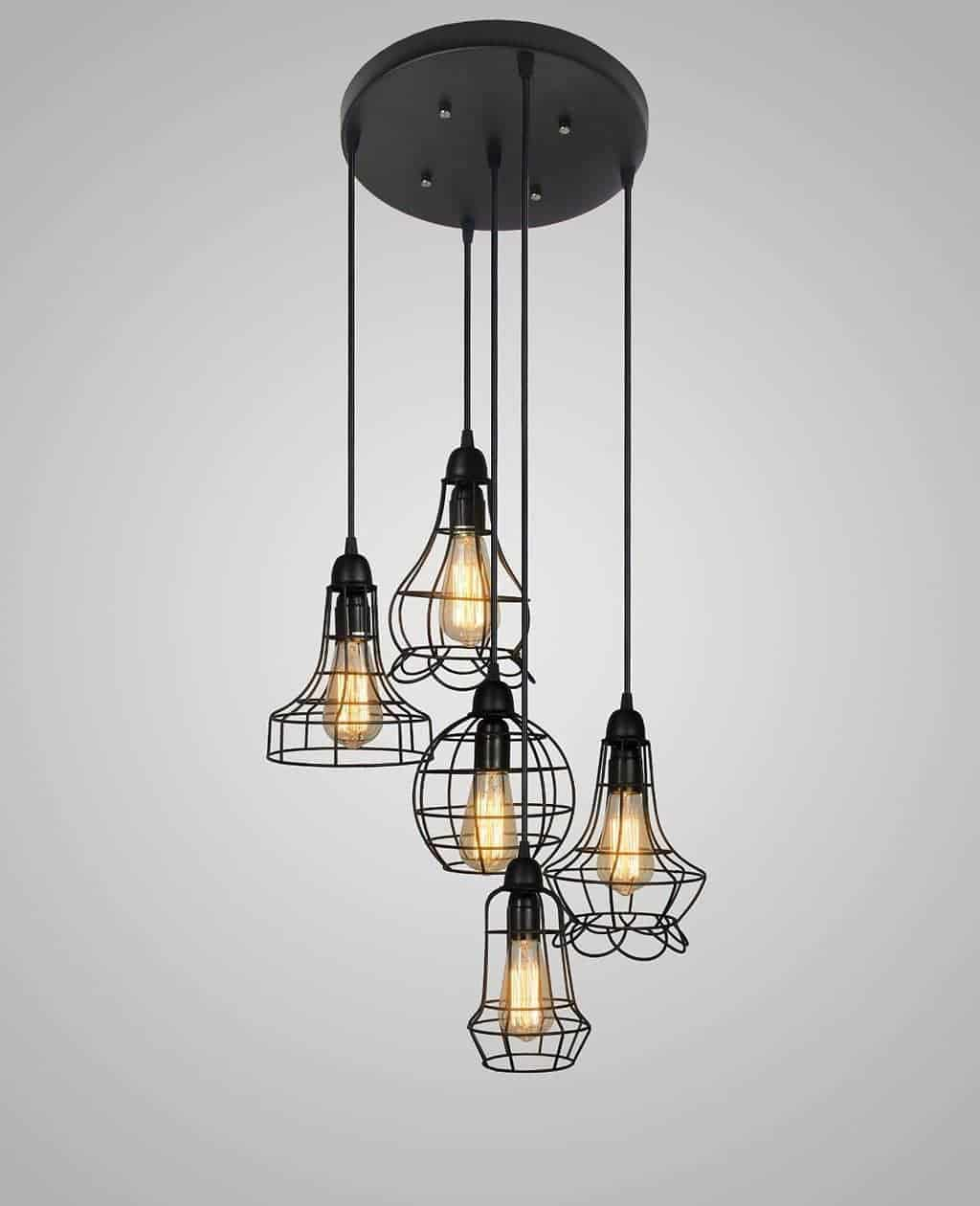 Vintage, Farmhouse and Industrial Style Lighting by Just the Woods