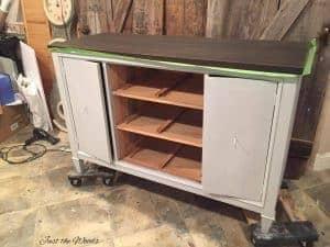 Kristi Kuehl Pure Home Paint Storm, chalk paint, non toxic paint
