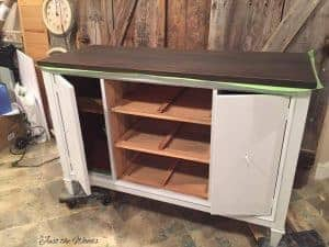chalk paint, painting furniture layers
