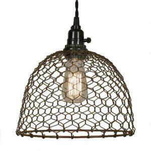 chicken wire light, lighting