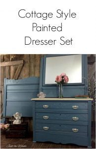 cottage-style-painted-furniture, eastlake, knapp joints, painted dresser