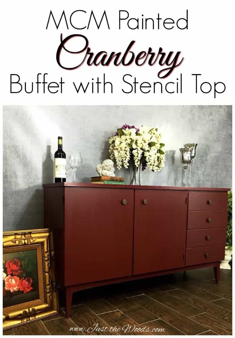 cranberry-painted-buffet