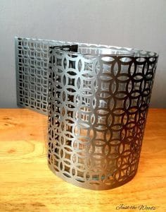 DIY with Decorative Tin sheets