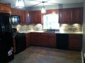 Complete Kitchen Remodel / Just the Woods