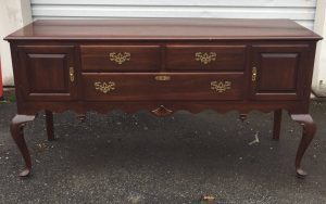 ethan allen buffet, vintage furniture, staten island, nyc, nj
