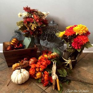 Fall Home Decor, craft supplies