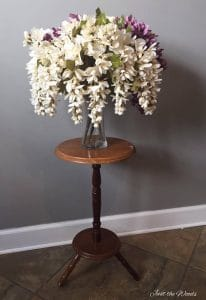 Painted Plant Stand by Just the Woods