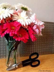 DIY project with tin snips