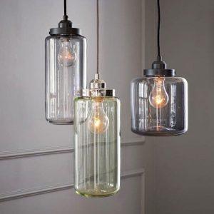 vintage jar chandelier