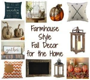 Farmhouse Fall Decor by Just the Woods