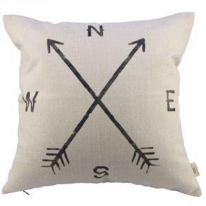 Compass Pillow