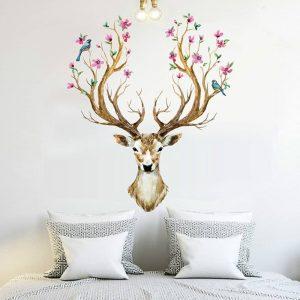 deer-wall-mural