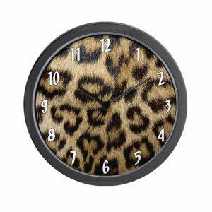 leopard-clock