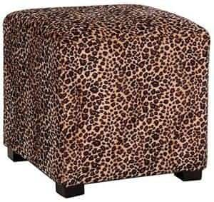 leopard-ottoman