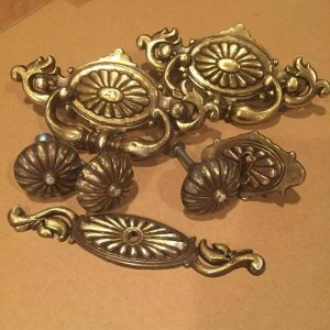 original hardware, painted hardware, ornate hardware, vintage hardware