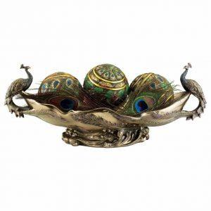 peacock-centerpiece-bowl