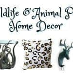 Fun Wildlife & Animal Print Decor