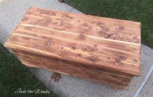 sanded cedar chest, wood grain, cedar wood, antique, staten island