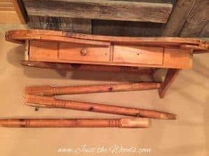 kidney-desk, vintage vanity, vintage desk, kidney vanity