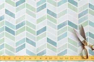 chevron fabric, decoupage fabric,