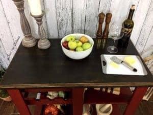 kitchen island, staten island, for sale, espresso, farmhouse style