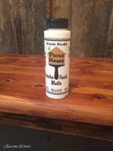 sealed-with-matte-sealer, poly, painted furniture, non toxic