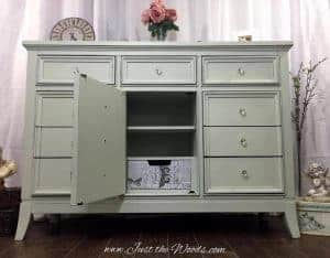 shabby chic dresser, decoupaged drawer, shabby chic dresser, nyc, nj