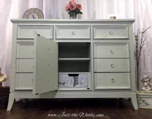 shabby chic dresser, decoupaged drawer, shabby chic dresser, nyc, nj